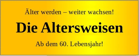 Altersweisen